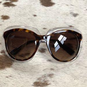 66007181c88 Dolce   Gabbana tortoise   clear 54 mm cat eye